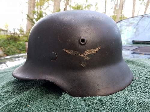 M40 SD Luftwaffe Helmet!