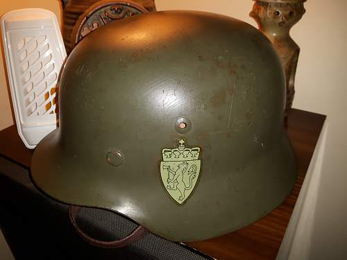 M35 Norwegian referb helmet.