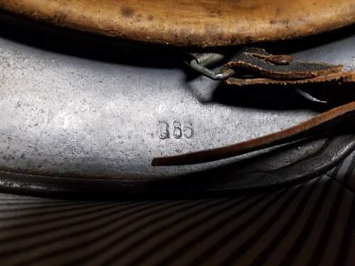 Stunning M40 SD Luftwaffe helmet!