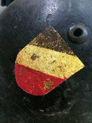 Help on Croatian SS helmet