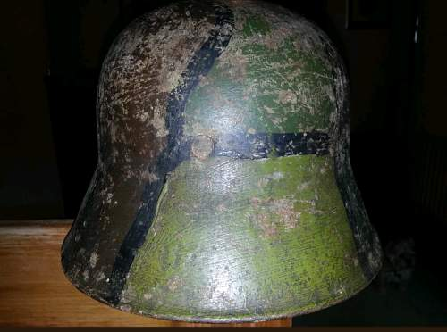 Opinions on M16 Camo Stahlhelm - Unusual pattern/colours