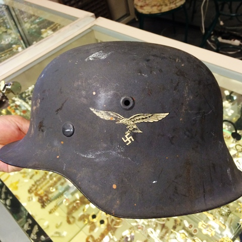 Looking to add Luftwaffe helmet to my home........correct?