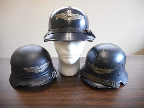 Click image for larger version.  Name:luftschutz helmets.jpg Views:15 Size:322.0 KB ID:979764