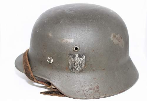 M35 Heer helmet