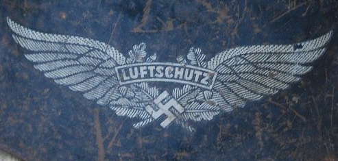 Genuine or fake luftschutz decal opinions please ??