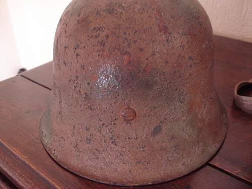 german mle 42 camo helmet