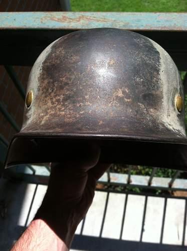 Early m35 camo helmet q62