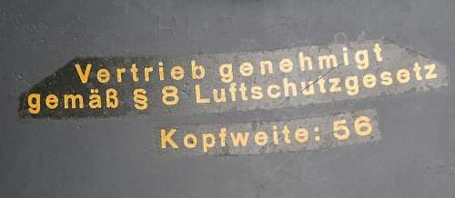 New Addition 3Piece  LUFTSCHUTZ BEADED M38 GLADIATOR HELMET