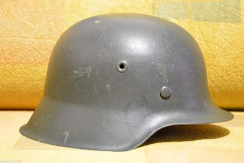 m-35 single decal helmet