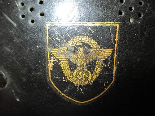 M34 Double Decal Police Helmet