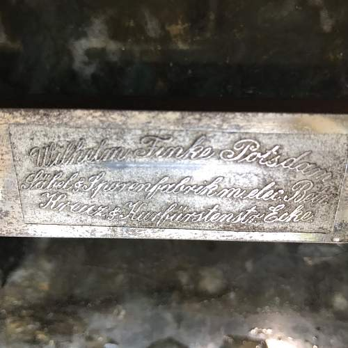 Imperial etched sword with Guard Star