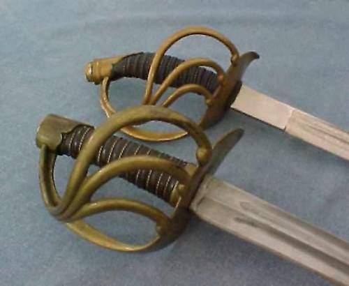 Imperial German Cavalry Officers sword info