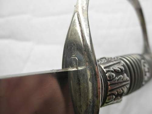 SS early-sword with original storage bag