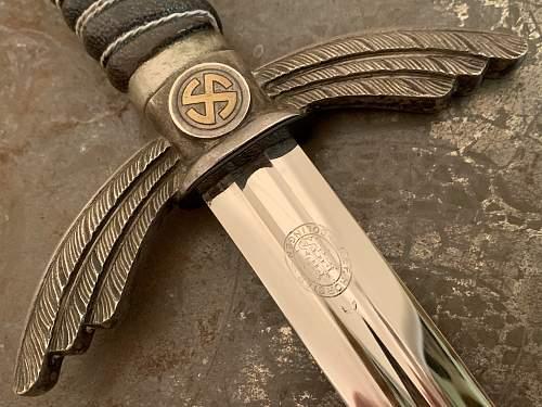 Luftwaffe Sword - E & F Horster