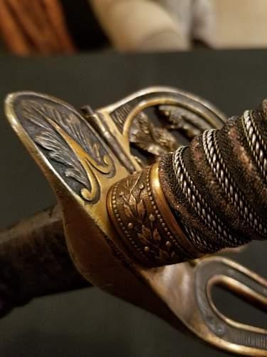 presentation Imperial sword