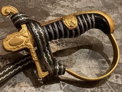 "Eickhorn ""Field Marshall"" Sword"