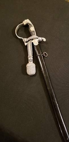SS panther head sword made by Pack
