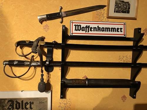 german ww2 heer officers sword