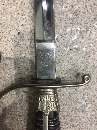 Police Sword: Real or fake?