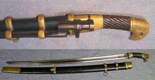 Germen Russian cossack saber