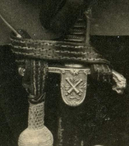 Sword on Polizei man - Cavalry sword or different ?
