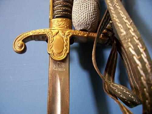 "Eickhorn ""Wrangel"" pattern sword"