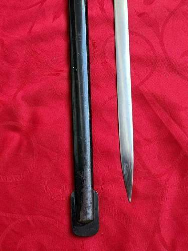Police Sword NCO / Solingen Herm. Rath.  Is it worth the purchase as a new collector?