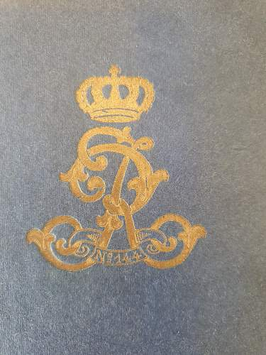 Damascus IOD89 presented to Leutnant Vieth in 1915