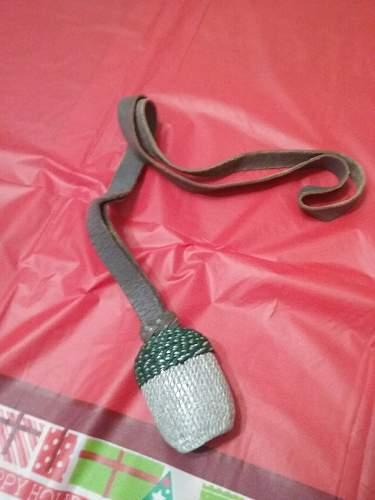 Troddel/Sword knot ID