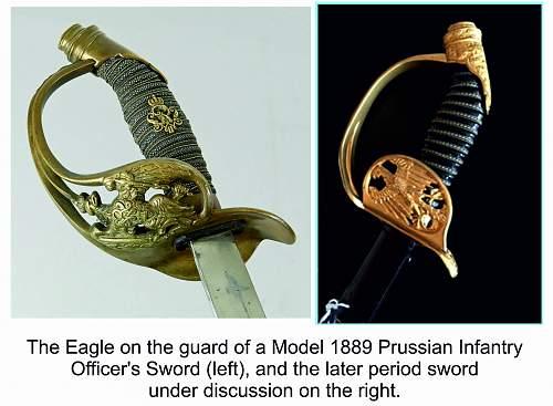 An Interesting Third Reich Sword?