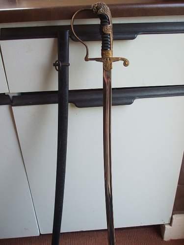 My recent heer sword find
