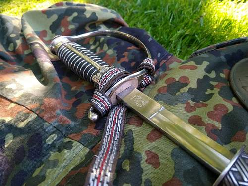 Police/SS sword for officers.