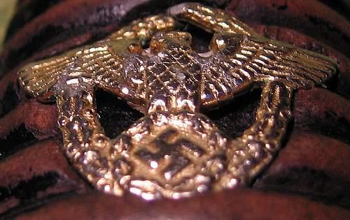 POLICE NCO SWORD -   G O L D   grip eagle