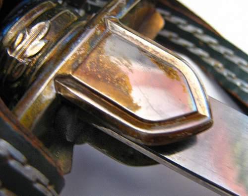 Pr. Eugen sword - gilt on nickel (?)