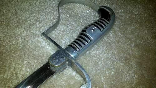 WW2 German sword