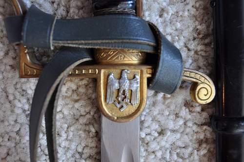TR Heer Army Sword