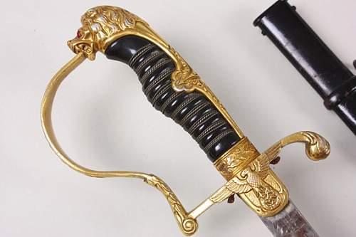 Lion's Head CARL EICKHORN Sword