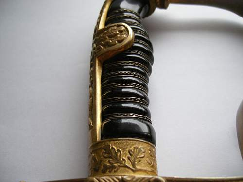 Robert Klaas Lionshead sword