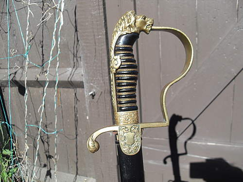 Click image for larger version.  Name:german artillary officers sword 002.jpg Views:278 Size:74.6 KB ID:373978