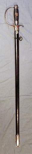 Police Sword-WKC.