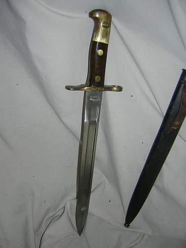 Need opinions on German officers dress sword and an unknown bayonet.
