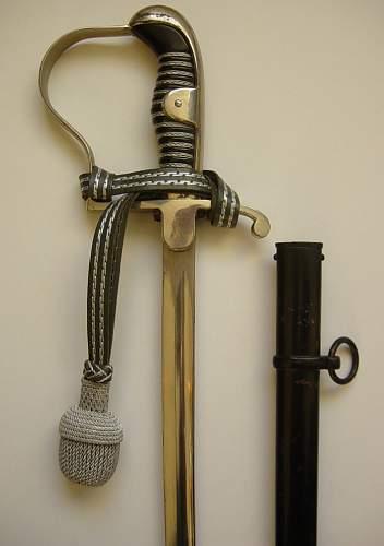 Heer NCO's sword