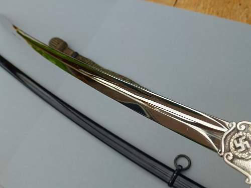 One of the rarest Third Reich Swords: May I introducea mint Prison/Justiz Official Sword by Eickhorn