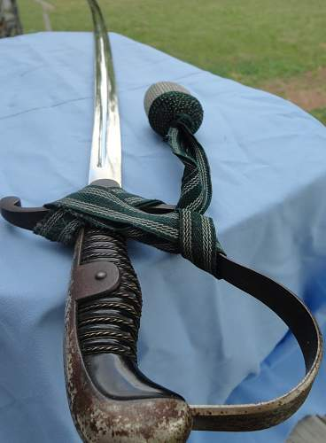 EM NCO Sword with Knot by Rich Herder