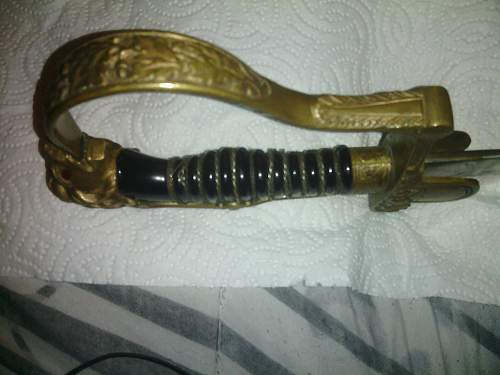 Pair of Lionshead Swords In Need of Opinions