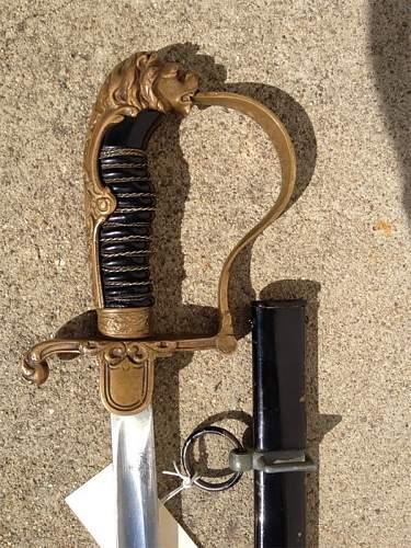 Interesting Lionhead Sword