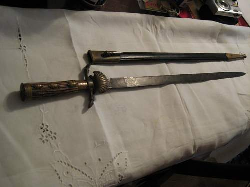 What kind of sword?