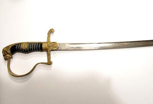 Robert Klaas Solingen Pantherhead Sword