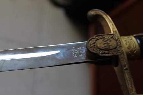 Heer Sword #3 Alcoso Please help ID and verify