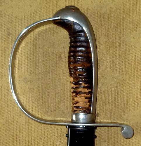 German Sword Construction.